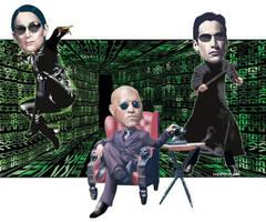 Matrix: 'Retreaded' by choffman36