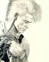 Billy Idol Portrait by choffman36
