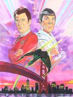 Star Trek voyage home by choffman36