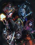 Gene Simmons collage prisma