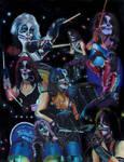 Peter Criss prisma collage