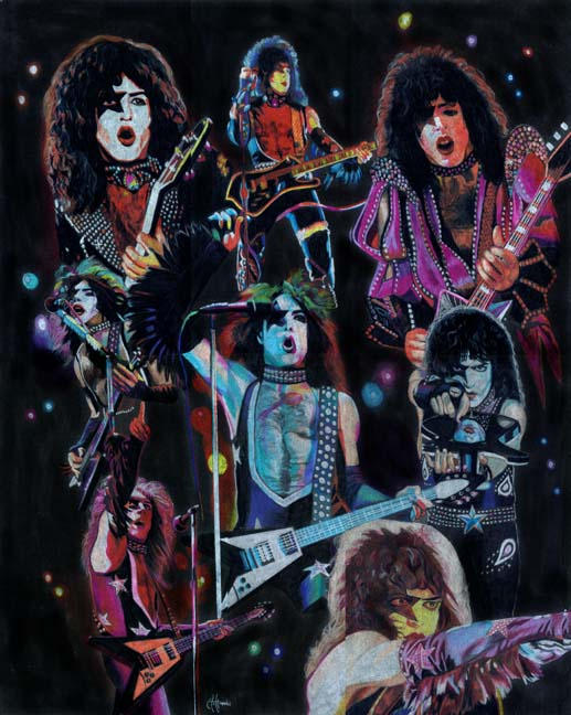 paul stanley prisma collage by choffman36 on deviantart. Black Bedroom Furniture Sets. Home Design Ideas