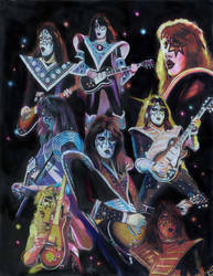 Ace Frehley Prisma collage by choffman36