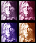 John Lennon color study
