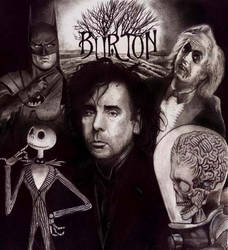 Tim Burton dark by choffman36