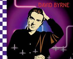David Byrne vector 1 by choffman36