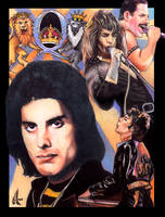 Freddie Mercury by choffman36