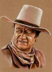 John Wayne the Duke by choffman36