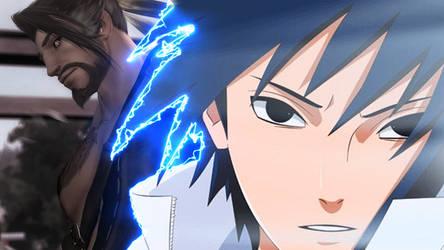 Sasuke and Hanzo by MichaelRusPro