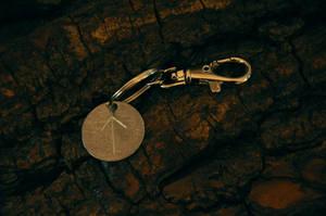 runic keychain