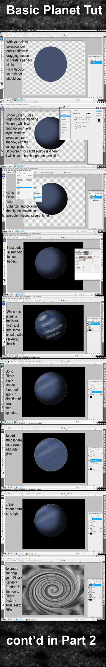 Basic Planet Tutorial by KaykoMay