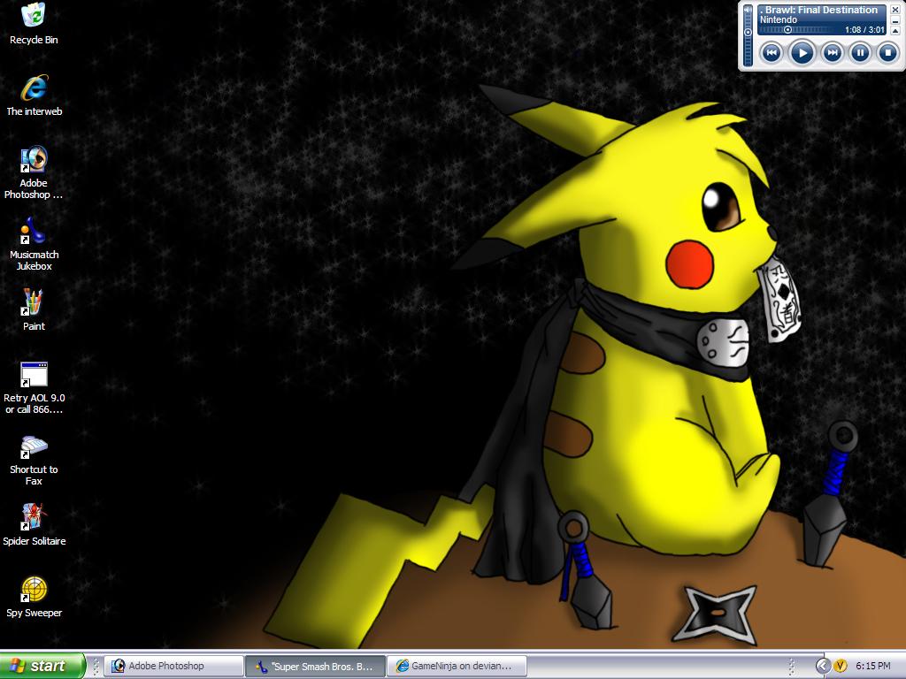 Light and Darkness Desktop by GameNinja