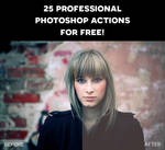 25 Professional Photoshop Actions for Free