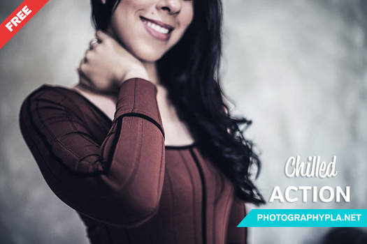 Free Photoshop Action: Chilled