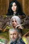 Witcher: Yennefer, Ciri and Geralt