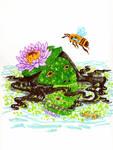 Mermay Honeybee by MommaCabbit