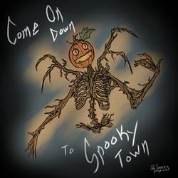 Spooky Town by TheScreechingPumpkin