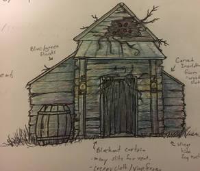 Shadowed Swamp Facade Concept by TheScreechingPumpkin