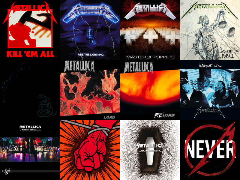 Metallica Album Art Wallpaper By Sheepwithwolves