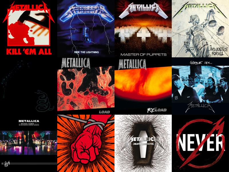 All Metallica Album Covers | Foto Bugil Bokep 2017