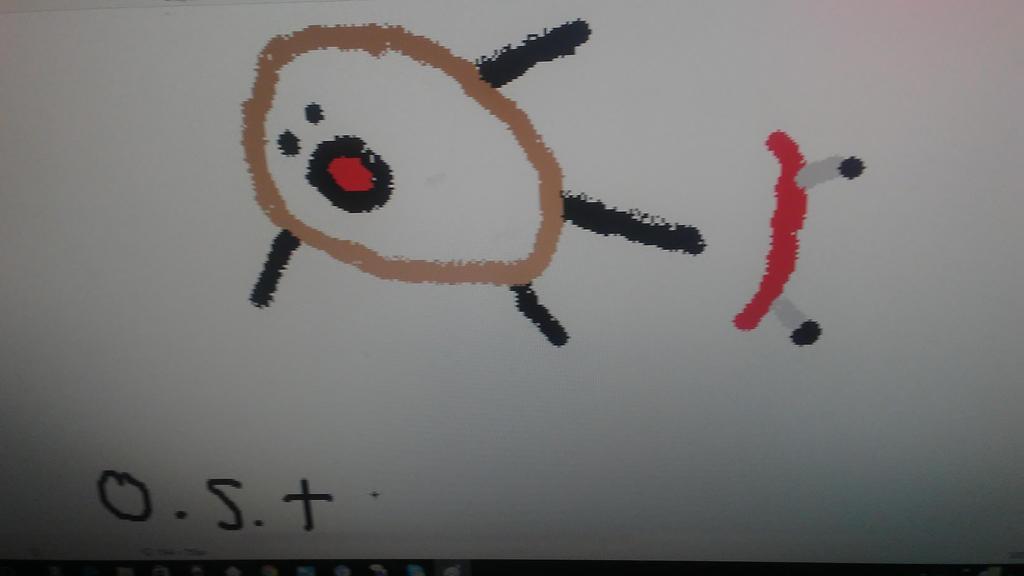 Potato Man falling off a skate broad by RST221B