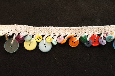 Button Beaded Trim