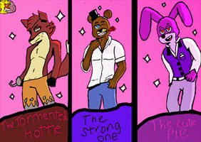 The Boys of Five nights of Freddy's by luismendoza15