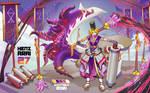 [OPEN] ADOPTABLE : Tentako the summoner of  Octaxy