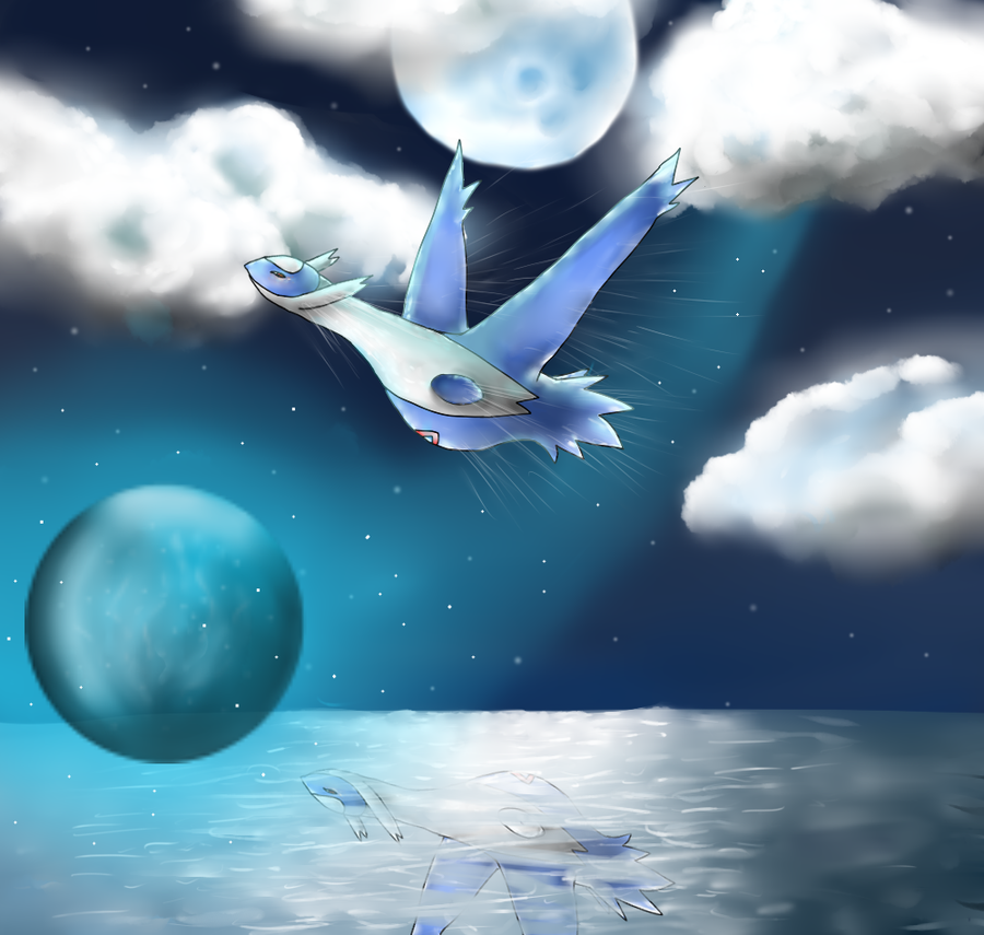 Latios's Flight by DeltaNebula