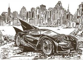 Batmobile sketch 1 by aisu-kaminari