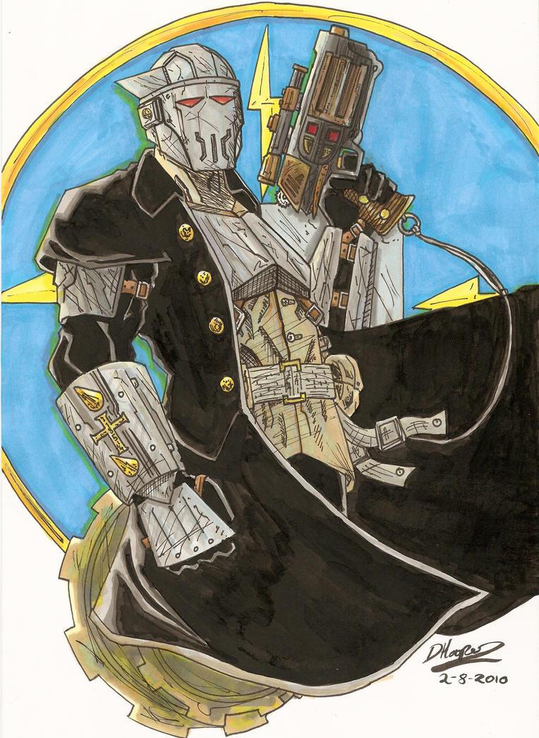 Lieutenant Thunder by aisu-kaminari