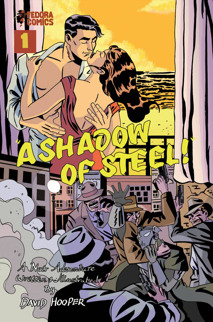 A Shadow of Steel Issue One Cover