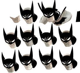 Batman Heads