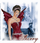 Red Holly Winter by Sherrys-Camera