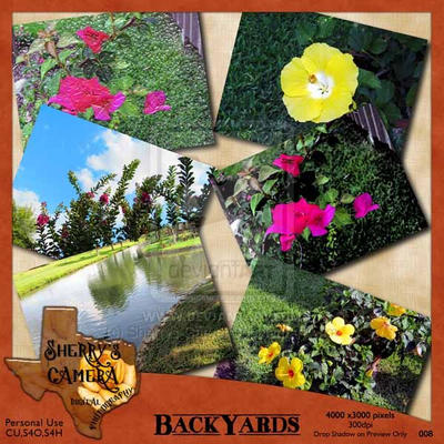 Freebie - Backyards Photo Pack by Sherrys-Camera