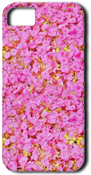 PinkFlowersiPhone5 Cover-png by Sherrys-Camera