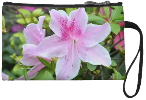 PinkAzaleaWristlet by Sherrys-Camera