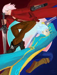 Dante and Vergil, Sons of Sparda by darearms