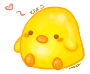 Hiyoko doodle by mochi-butt