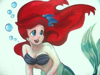 The Little Mermaid by Mellybean91