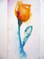 Watercolor Tulip 2