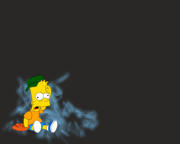 Bart Simpson Wallpaper By CheaterHunter