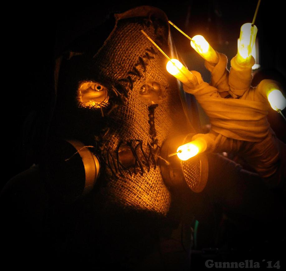 Scarecrow - Arkham Asylum by Chibimaruchan