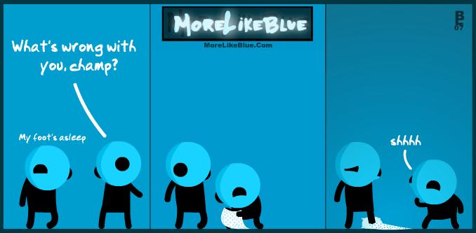 MoreLikeBlue: Asleep by MrGobi