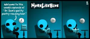 MoreLikeBlue: Poetry by MrGobi