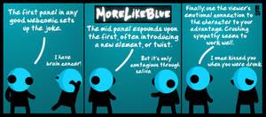 MoreLikeBlue: Webcomic by MrGobi
