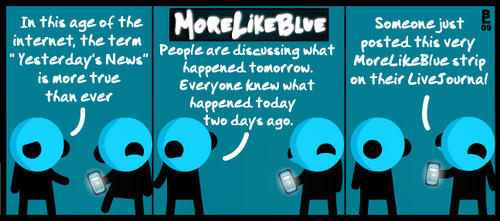 MoreLikeBlue: News by MrGobi