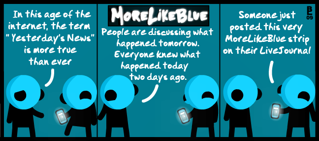 MoreLikeBlue: News by MrGobi