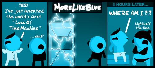 MoreLikeBlue: Time by MrGobi