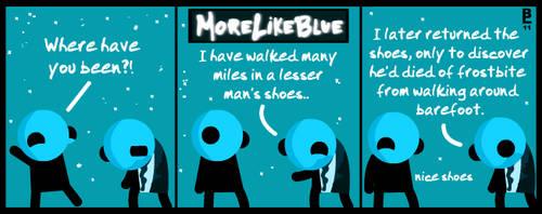 MoreLikeBlue: Shoes by MrGobi